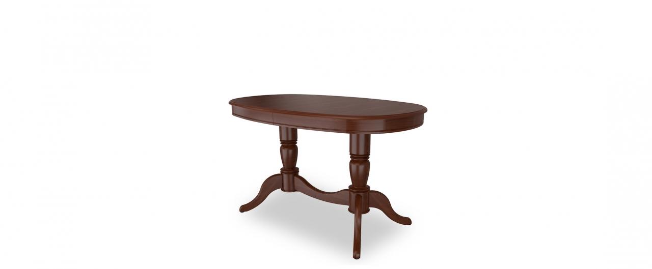 Стол обеденный Фламинго 9 Тёмный орех Модель 370