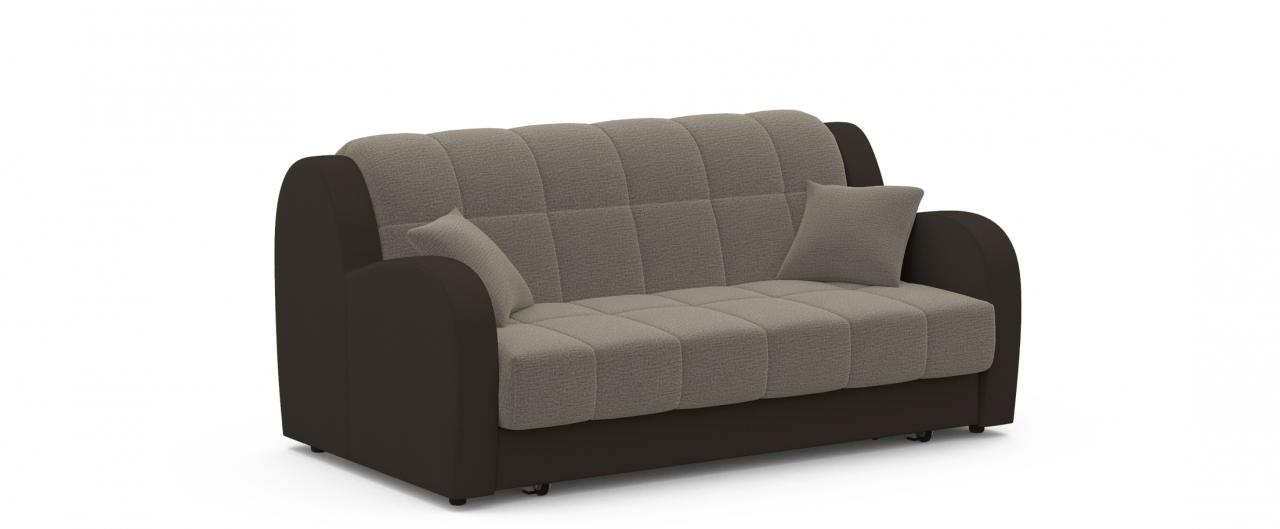 Диван прямой Барон 022Гостевой вариант и полноценное спальное место. Размеры 173х104х88 см. Купить серый диван аккордеон в интернет-магазине MOON TRADE.<br>