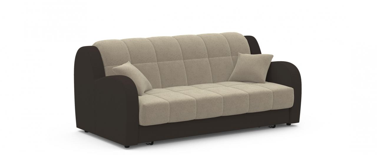 Диван прямой аккордеон Барон 022Гостевой вариант и полноценное спальное место. Размеры 188х104х88 см. Купить светло-бежевый диван аккордеон в интернет-магазине MOON TRADE.<br>