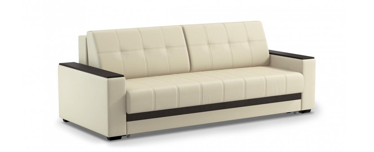 Диван прямой еврокнижка Атланта Next 066Гостевой вариант и полноценное спальное место. Размеры 241х108х91 см. Купить светло-бежевый диван еврокнижка в интернет-магазине MOON TRADE.<br>