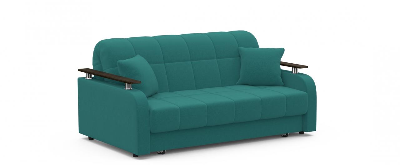 Диван прямой Модель 044Модель 044 зелёного цвета элегантно дополняет интерьер квартиры, частного дома или офиса, а при необходимости диван за несколько секунд превращается в широкую кровать.<br>