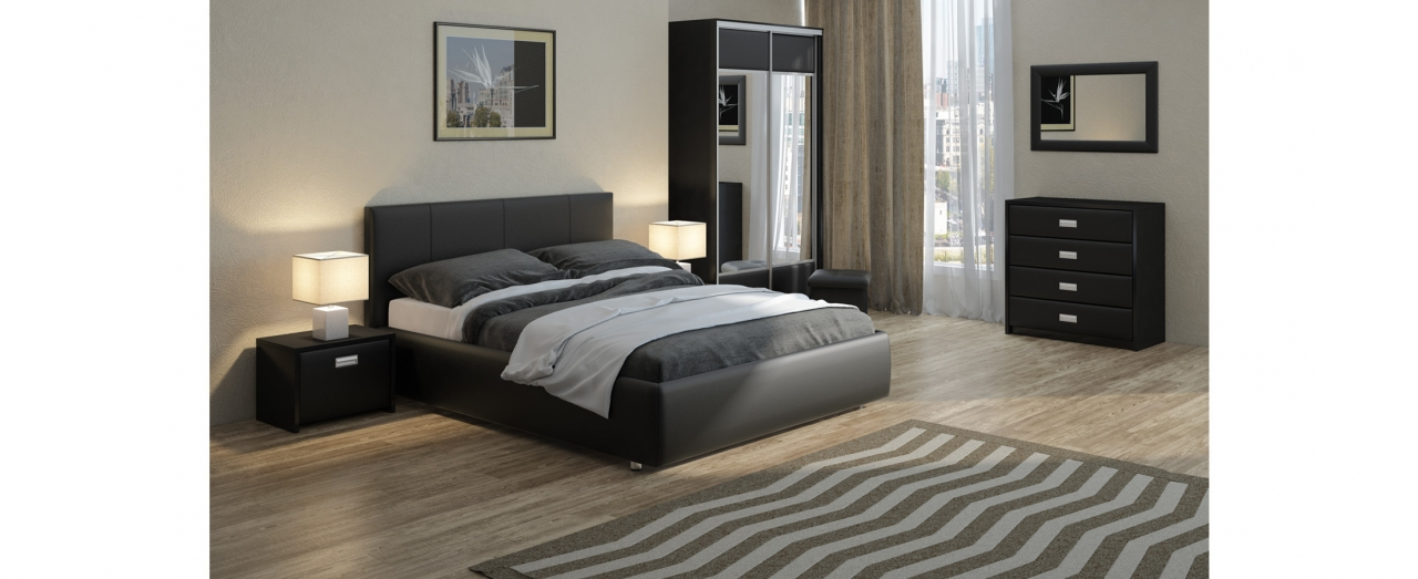 Кровать двуспальная Veda 3 Модель 245