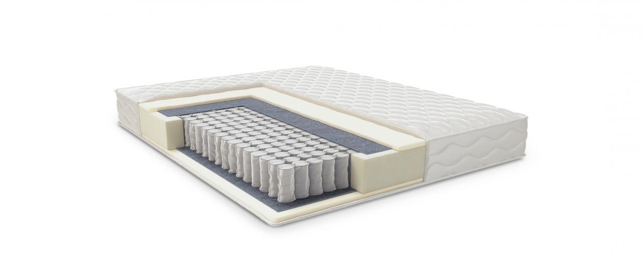 Матрас Comfort Care 401Матрас средней жёсткости. Выдерживает нагрузку до 160 кг, поддерживает позвоночник. Размеры 80x190 см. Купить в интернет-магазине MOON TRADE.<br>