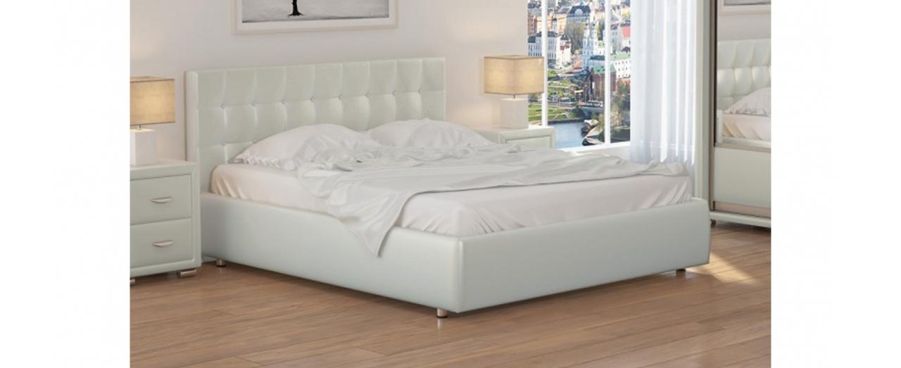 Кровать двуспальная Veda 1 Модель 281Берёзовые ламели усилят ортопедический эффект матраса. С подъёмным механизмом. Купить двуспальную кровать размером 160х200 см в интернет-магазине MOON TRADE.  Артикул: К000002.<br>