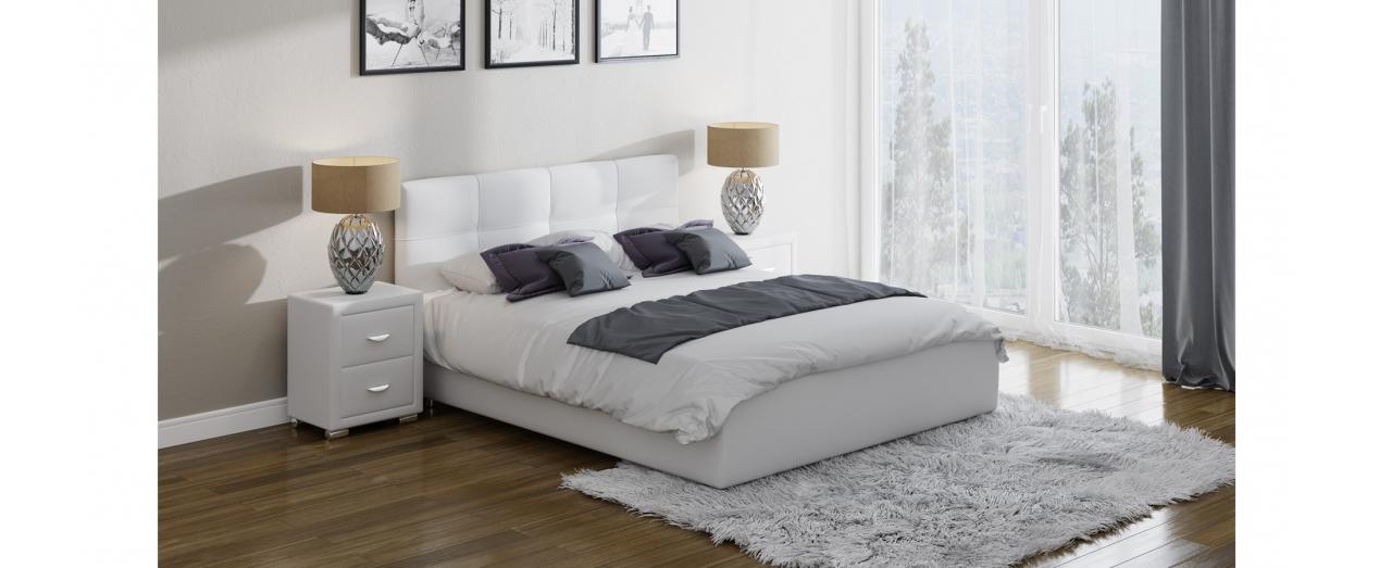Кровать двуспальная Life 1 Модель 284Берёзовые ламели усилят ортопедический эффект матраса. С подъёмным механизмом. Купить двуспальную кровать размером 160х200 см в интернет-магазине MOON TRADE. Артикул: К000086.<br>