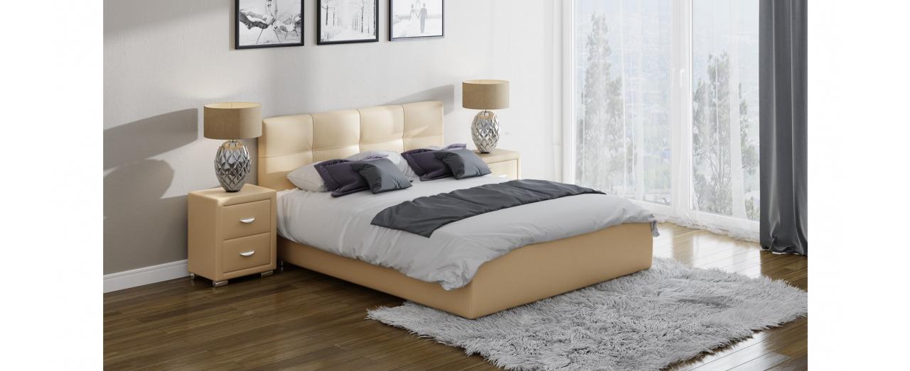 Кровать односпальная Life 1 Box Модель 280Современная кровать в лаконичном стиле. Изготовлена из ДСП. На выбор два варианта обивки. Спальное место 80х200 см. Гарантия 18 месяцев. Доставка от 1 дня.<br>