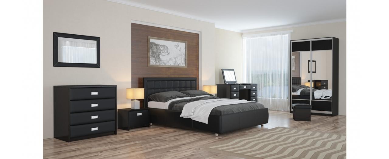Кровать полутороспальная Veda 2 Модель 283Два варианта обивки. Изголовье украшено пуговицами или стразами. Берёзовые ламели усиливают ортопедический эффект. Спальное место 140х200 см. Доставка от 1 дня.<br>