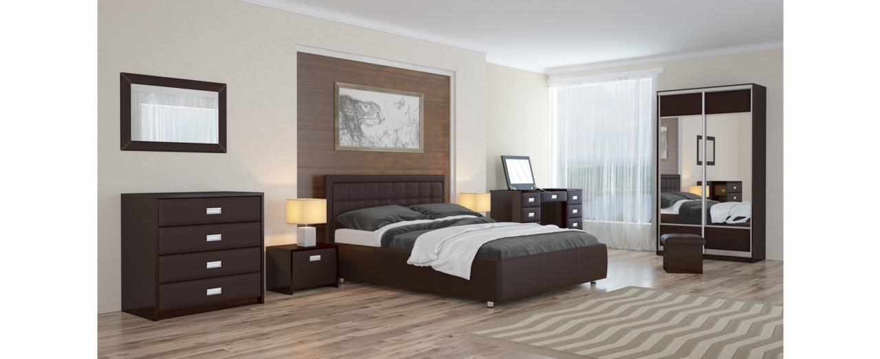 Кровать односпальная Veda 2 Модель 283Два варианта обивки. Изголовье украшено пуговицами или стразами. Берёзовые ламели усиливают ортопедический эффект. Спальное место 80х200 см. Доставка от 1 дня. Артикул: К000021.<br>