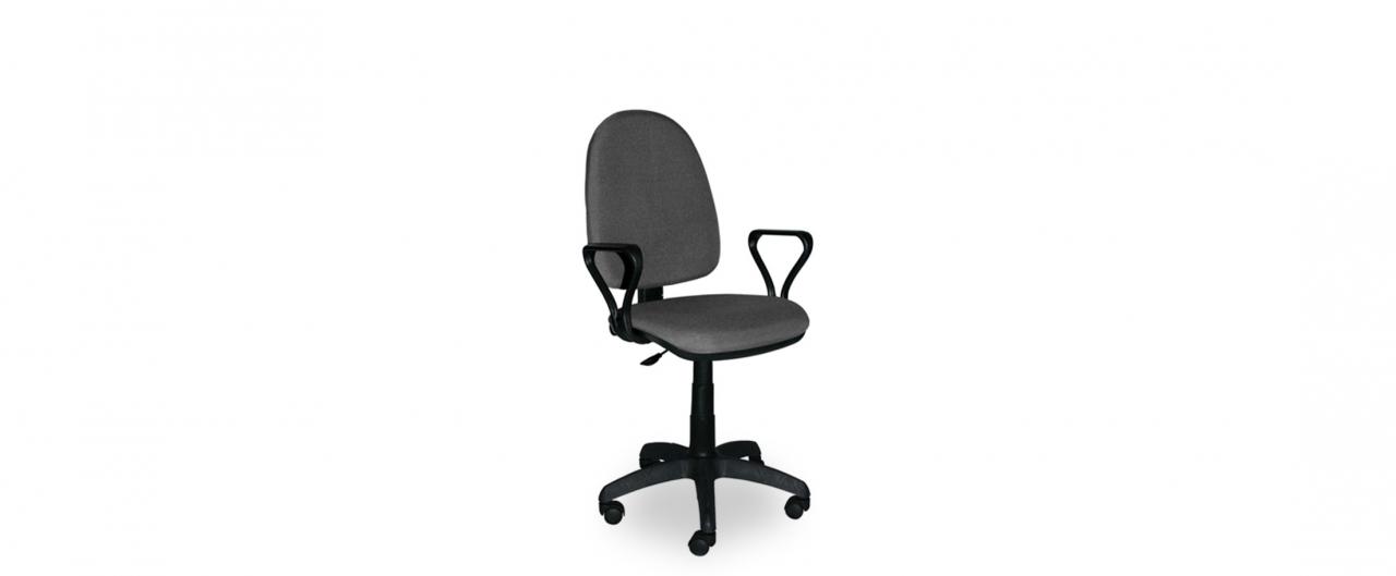 Кресло офисное Престиж Модель 376Механизм подъёма и опускания: газ-лифт. Крестовина из пластика. Максимальная нагрузка 100 кг. Доставка от 1 дня. Купить в интернет-магазине MOON TRADE.<br>
