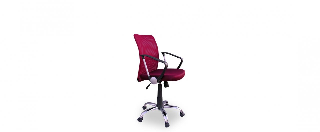 Кресло офисное Трикс Т-502 Модель 376Механизм подъёма и опускания: газ-лифт. Крестовина из хромированного металла. Максимальная нагрузка 120 кг. Доставка от 1 дня. Купить красное кресло в интернет-магазине MOON TRADE.<br>