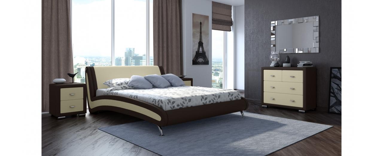 Кровать полутороспальная Corso 2 Модель 286 от MOON TRADE
