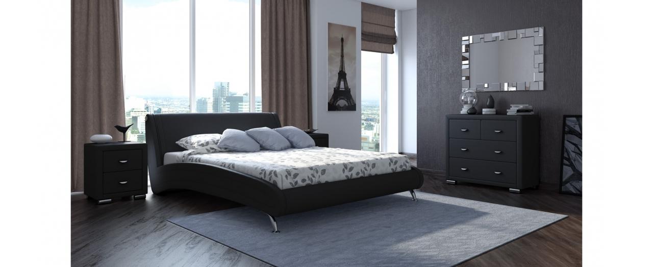 Кровать двуспальная Corso 2 Модель 286 от MOON TRADE