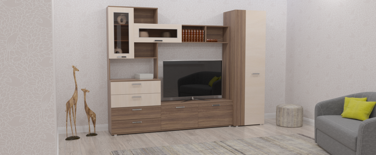 Стенка Колибри-4 Модель 501