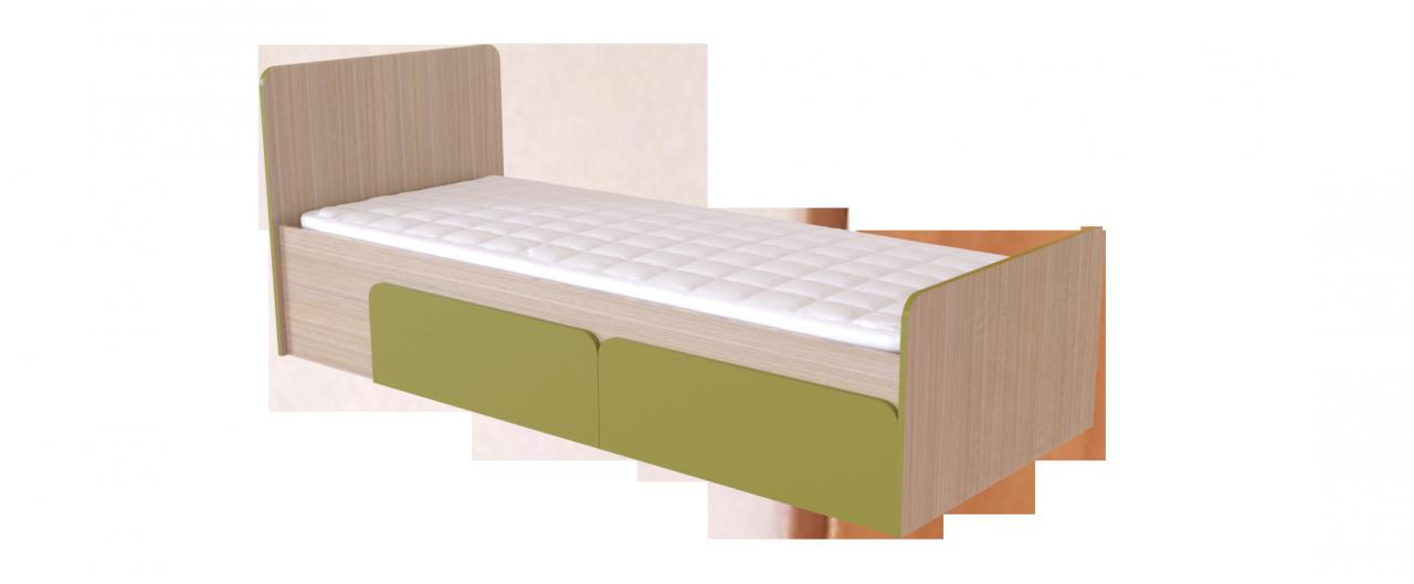 Кровать односпальная Скейт-3 Модель 505