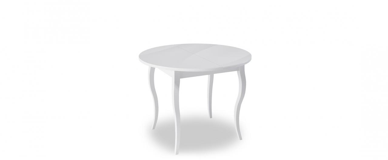 Стол обеденный Kenner 1000C Модель 370Столешница из ударопрочного стекла толщиной 4 мм. Стол в разложенном состоянии смотрится монолитно. Регулировочный винт в каждой опоре. Гарантия 24 месяца.<br>