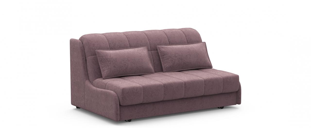 Диван прямой аккордеон Прага 105Гостевой вариант и полноценное спальное место. Размеры 160х108х90 см. Купить розовый диван аккордеон в интернет-магазине MOON TRADE.<br>