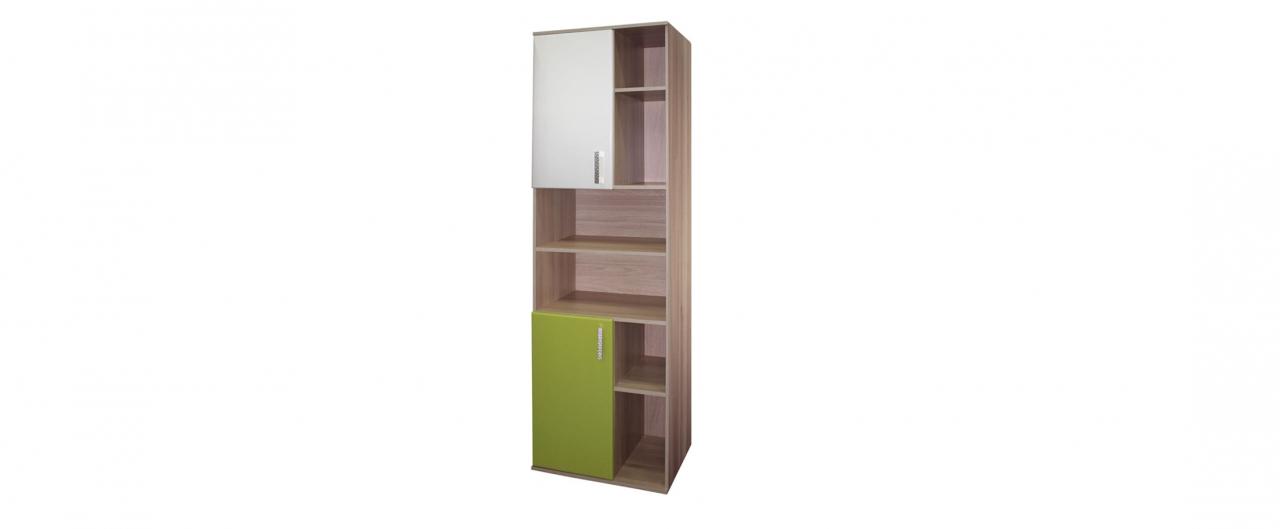 Шкаф для книг Дебют-2 Модель 507Шкаф с шестью вместительными открытыми полками и двумя закрытыми ящиками. Позволит сохранить порядок в комнате и на рабочем столе. Доставка от 1 дня.<br>