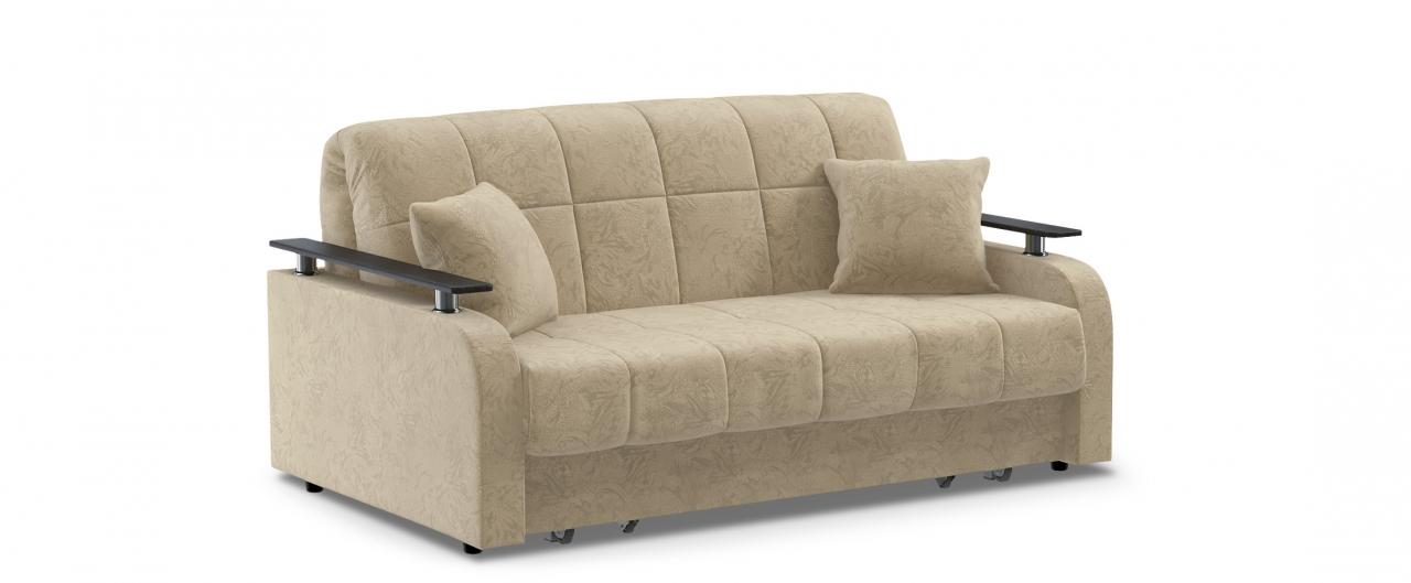 Диван прямой аккордеон Карина 044Гостевой вариант и полноценное спальное место. Размеры 170х104х88 см. Купить светло-бежевый диван аккордеон в интернет-магазине MOON TRADE.<br>