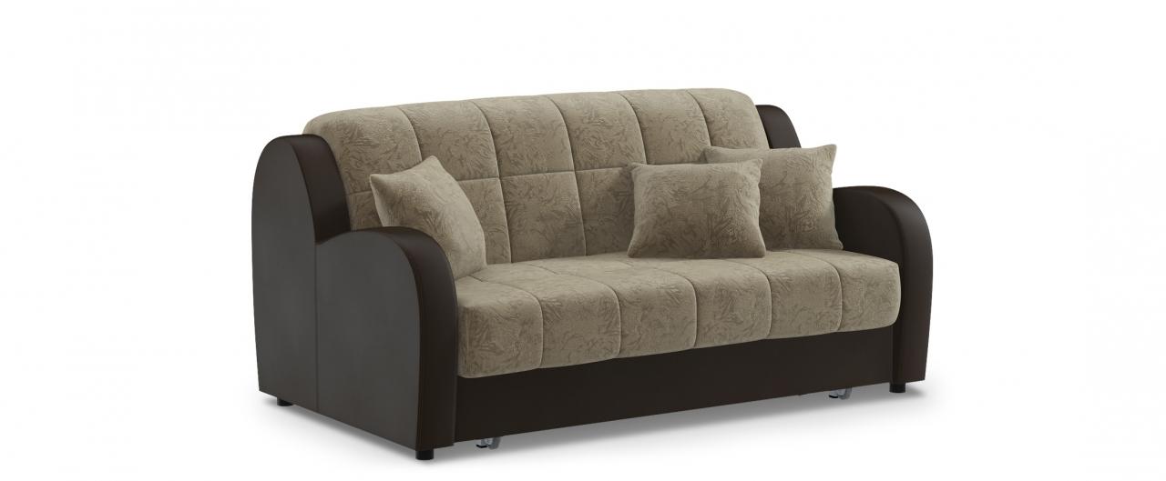 Диван прямой аккордеон Барон 022Гостевой вариант и полноценное спальное место. Размеры 173х104х88 см. Купить бежевый диван аккордеон в интернет-магазине MOON TRADE.<br>