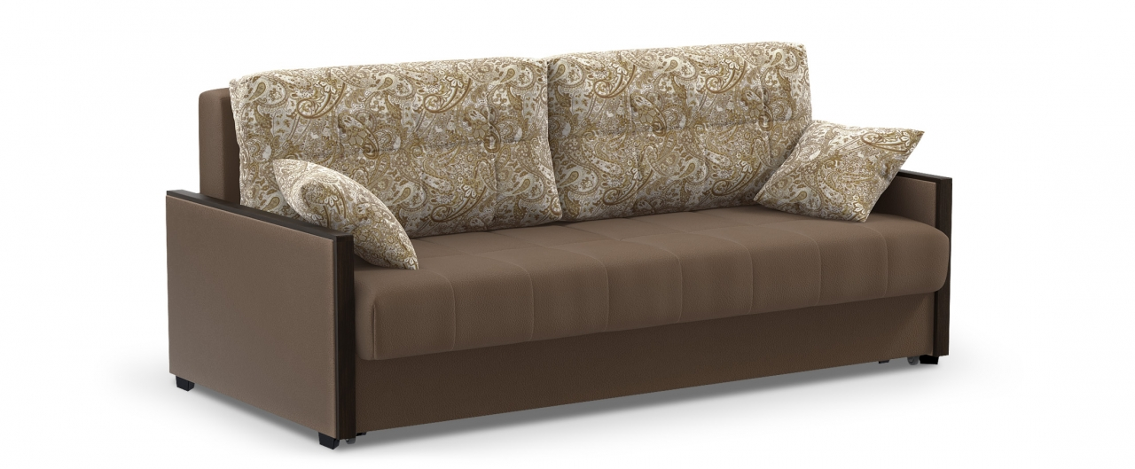 Диван прямой еврокнижка Мадрид 093Гостевой вариант и полноценное спальное место. Размеры 217х108х95 см. Купить диван еврокнижка в интернет-магазине MOON TRADE.<br>