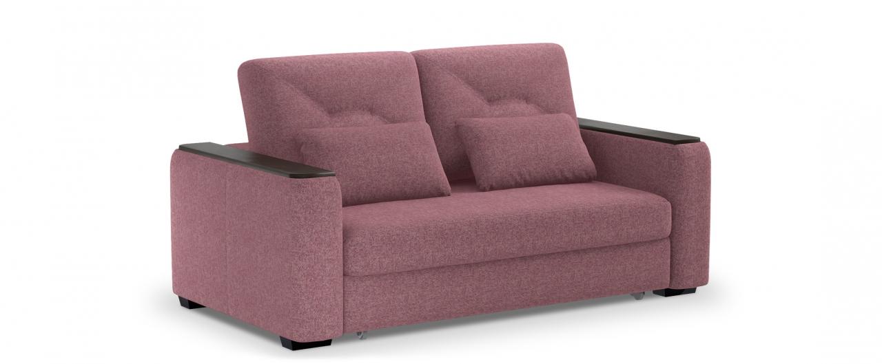 Диван прямой высоковыкатной Брюссель 082Гостевой вариант и полноценное спальное место. Размеры 184х110х93 см. Купить розовый диван высоковыкатной в интернет-магазине MOON TRADE.<br>