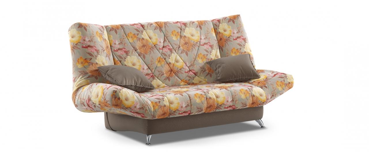 Диван прямой клик-кляк Санта Next 036Гостевой вариант и полноценное спальное место. Размеры 192х101х108 см. Купить бежевый диван клик-кляк в интернет-магазине MOON TRADE.<br>