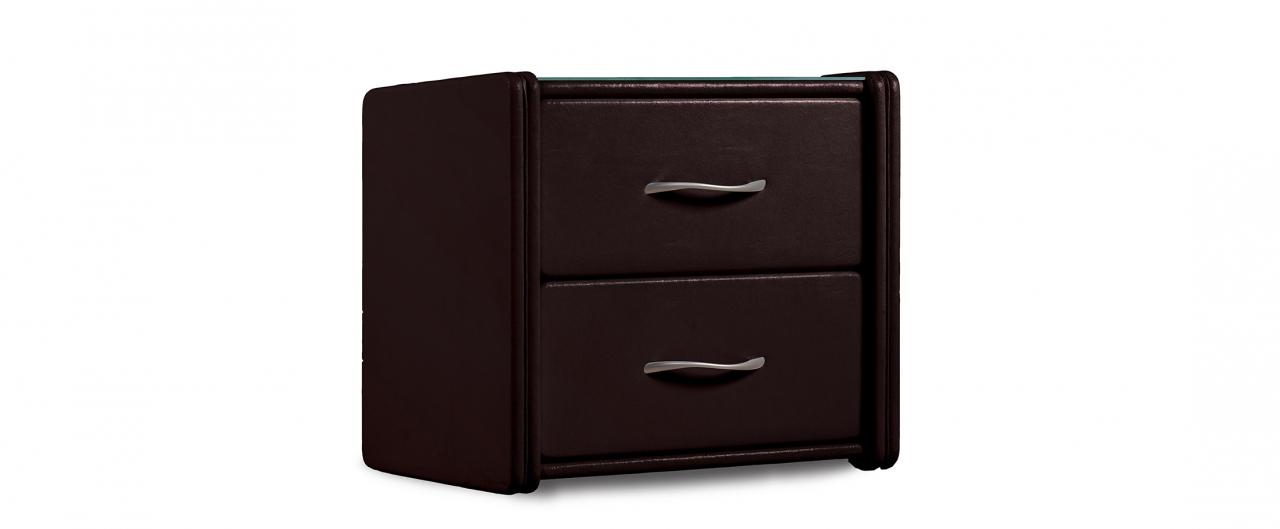 Купить Тумба прикроватная Кааба-2 кофе Модель 389 в интернет магазине корпусной и мягкой мебели для дома и дачи