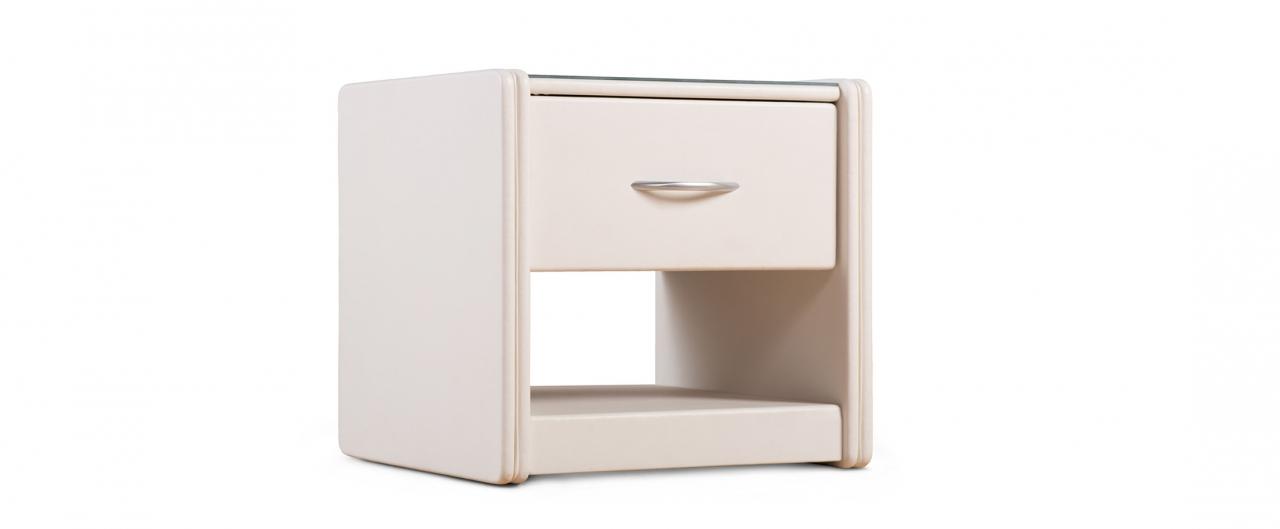 Купить Тумба прикроватная Кааба-1 марципан Модель 388 в интернет магазине корпусной и мягкой мебели для дома и дачи