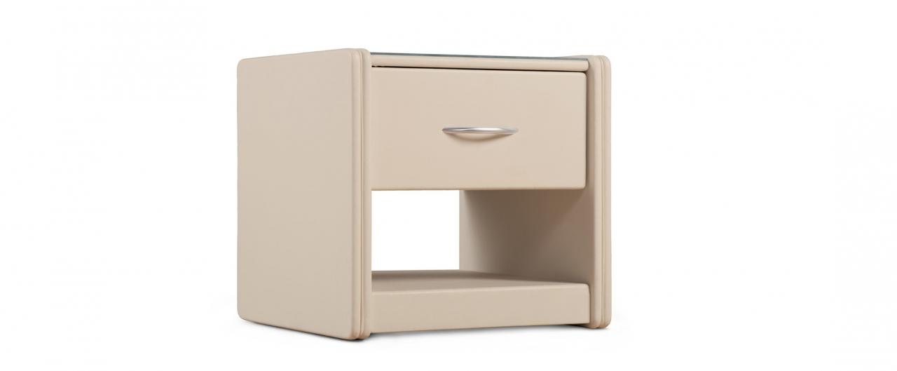 Купить Тумба прикроватная Кааба-1 суфле Модель 388 в интернет магазине корпусной и мягкой мебели для дома и дачи