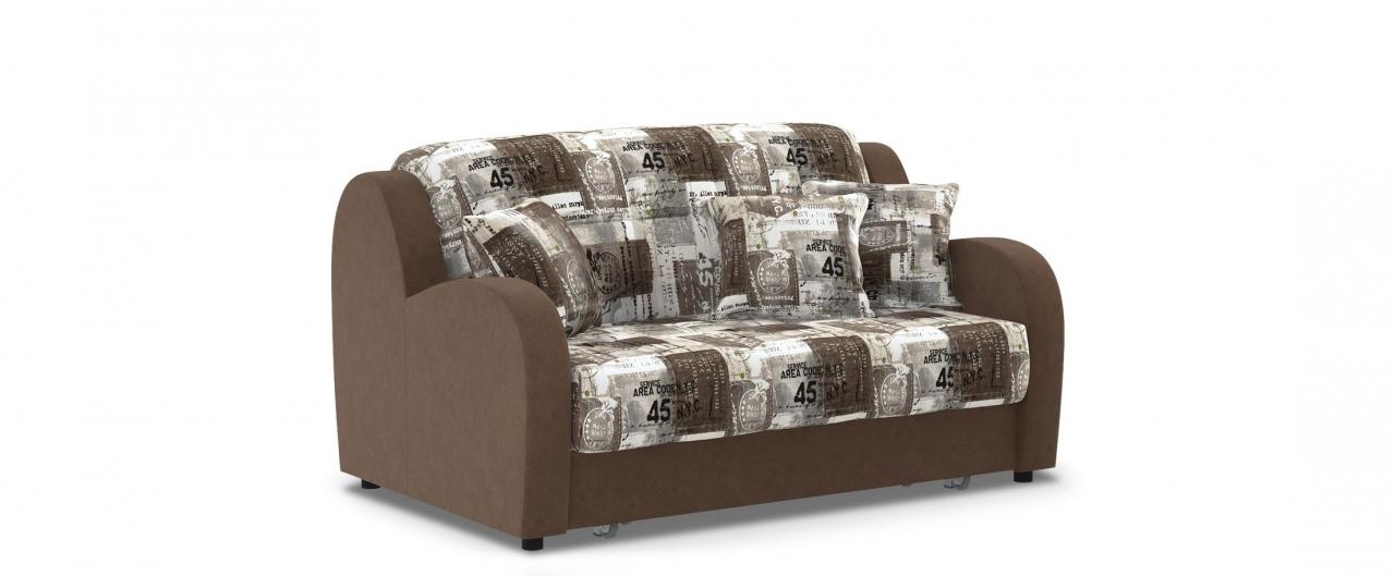 Диван прямой аккордеон Барон 022Гостевой вариант и полноценное спальное место. Размеры 153х104х88 см. Купить бежевый диван аккордеон в интернет-магазине MOON TRADE.<br>