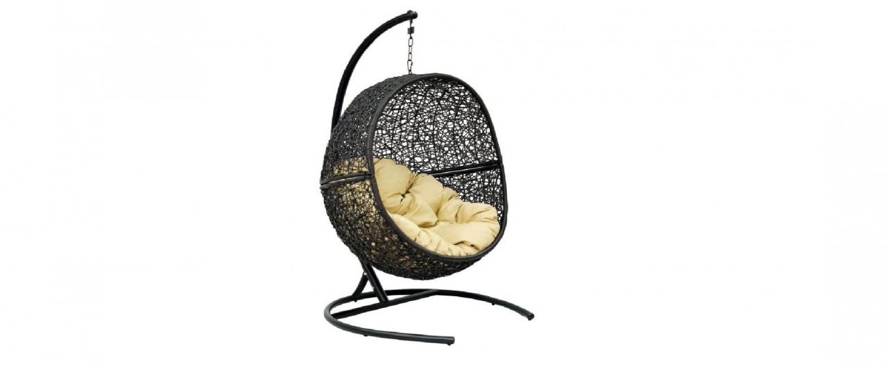 Подвесное кресло «Lunar Black» от MOON TRADE