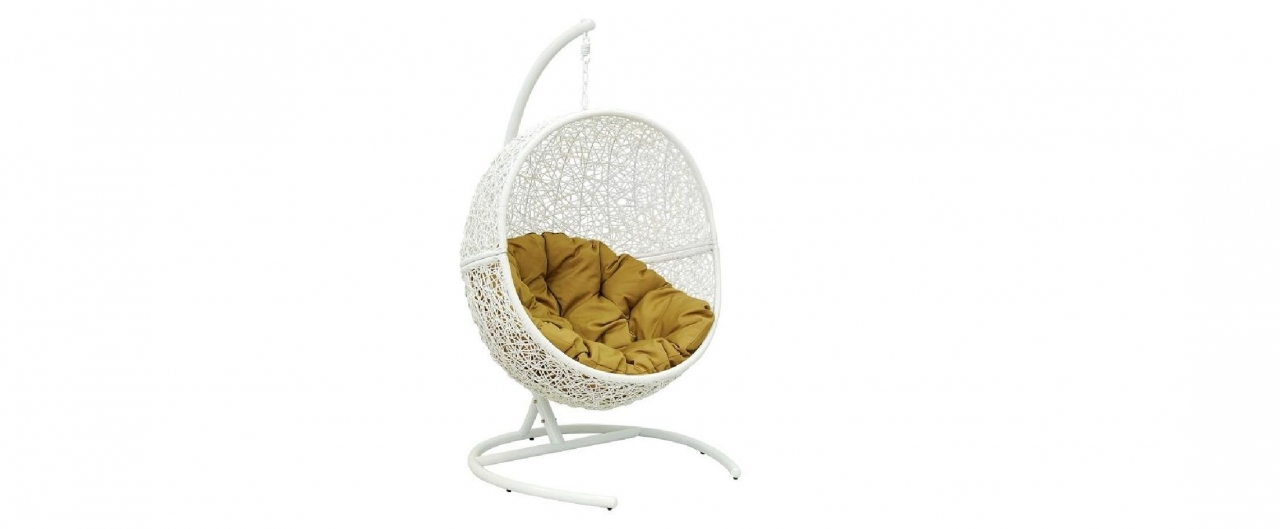 Подвесное кресло «Lunar White»Подвесное кресло «Lunar White»<br>