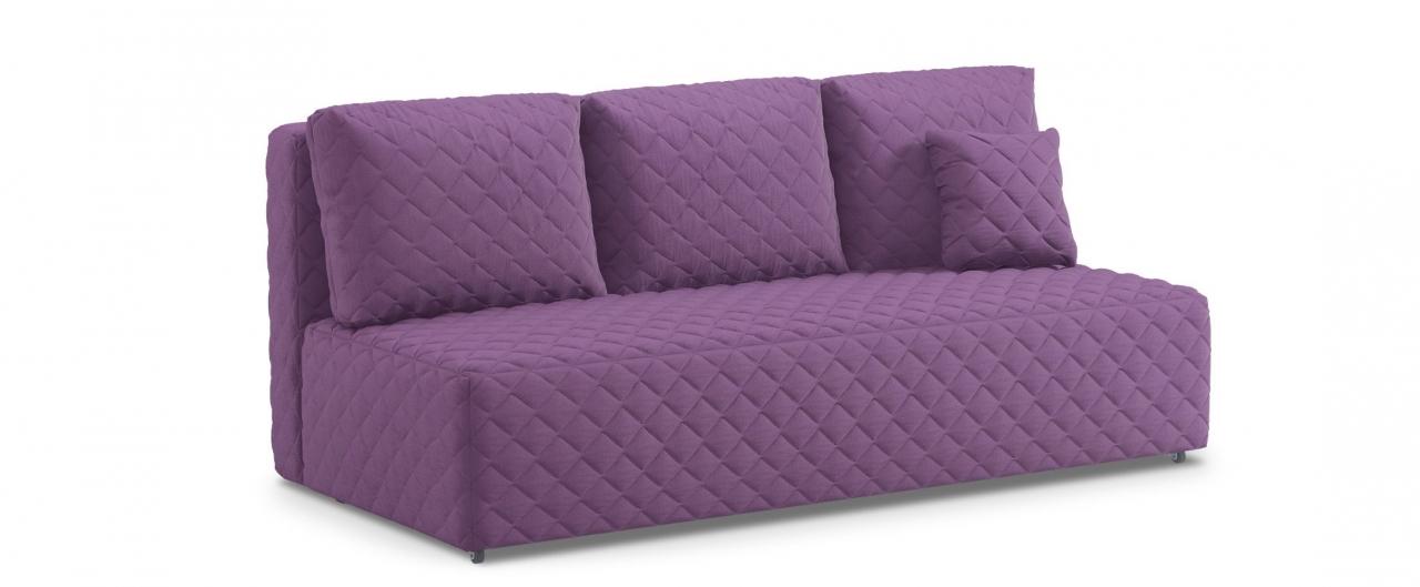 Диван прямой еврокнижка Марсель 087Гостевой вариант и полноценное спальное место. Размеры 207х102х92 см. Купить фиолетовый диван еврокнижка в интернет-магазине MOON TRADE.<br>