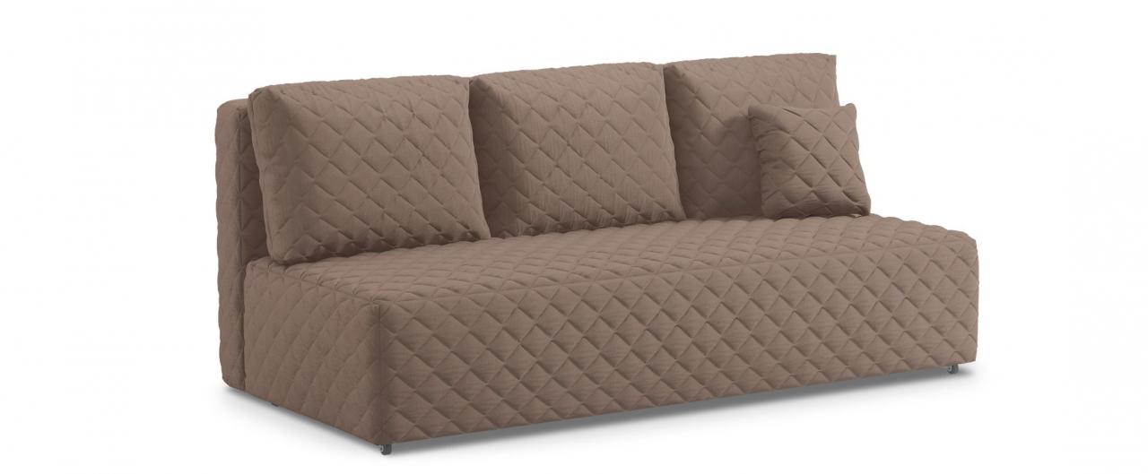 Диван прямой еврокнижка Марсель 087Гостевой вариант и полноценное спальное место. Размеры 207х102х92 см. Купить коричневый диван еврокнижка в интернет-магазине MOON TRADE.<br>