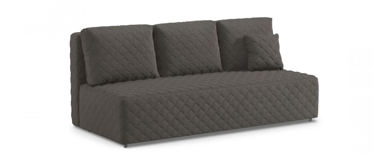 Диван прямой еврокнижка Марсель 087Гостевой вариант и полноценное спальное место. Размеры 207х102х92 см. Купить серый диван еврокнижка в интернет-магазине MOON TRADE.<br>