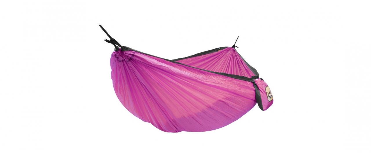 Одноместный гамак Voyager purple Модель 366Туристический одноместный гамак Voyager Модель 366. Артикул С000096<br>