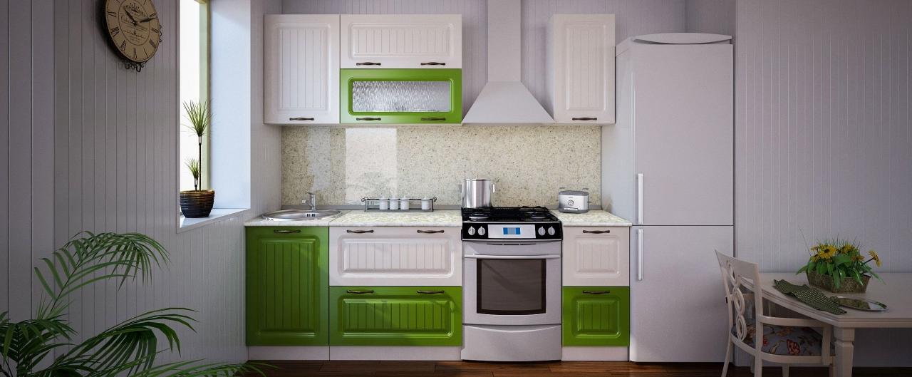 Купить Кухня Паутинка 1,7 м в интернет магазине корпусной и мягкой мебели для дома и дачи