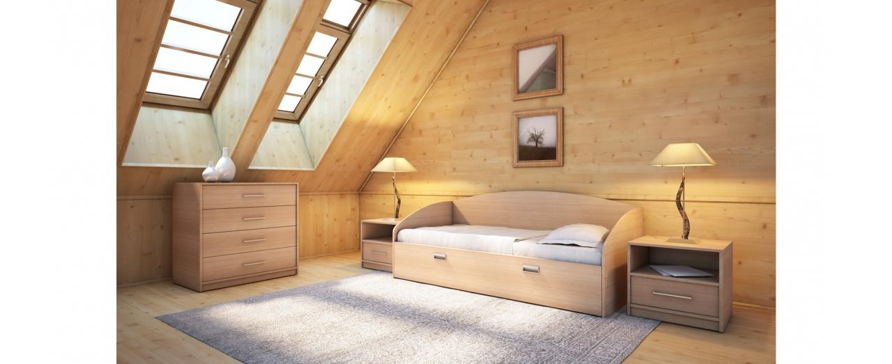 Кровать Этюд Софа Плюс Модель 356 от MOON TRADE