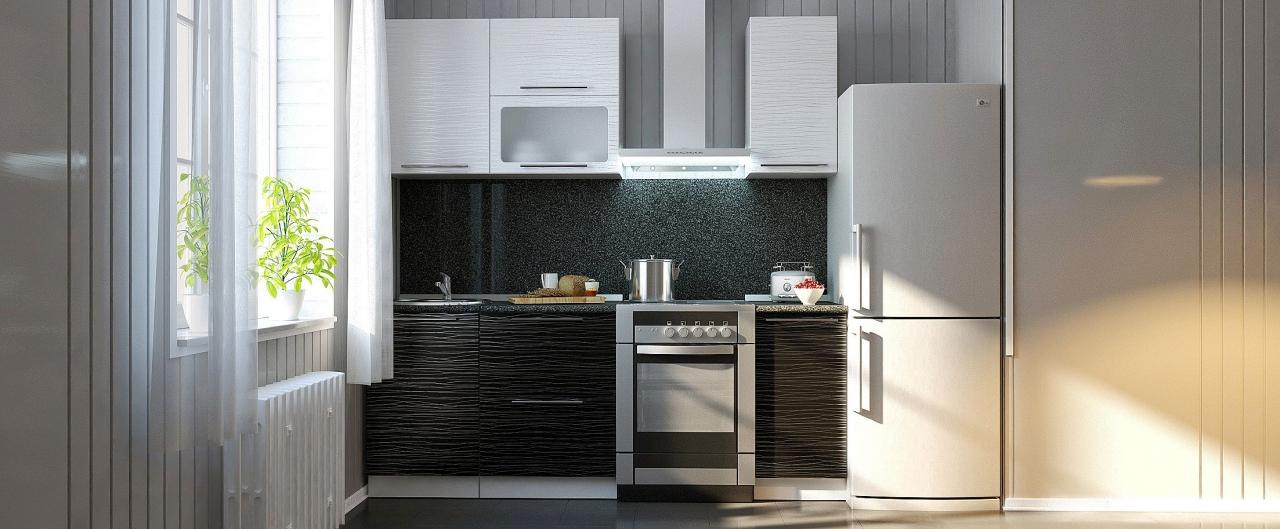 Купить Кухня Страйп 1,5 м в интернет магазине корпусной и мягкой мебели для дома и дачи