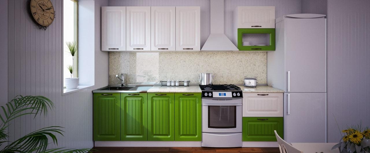 Купить Кухня Паутинка 2,2 м в интернет магазине корпусной и мягкой мебели для дома и дачи