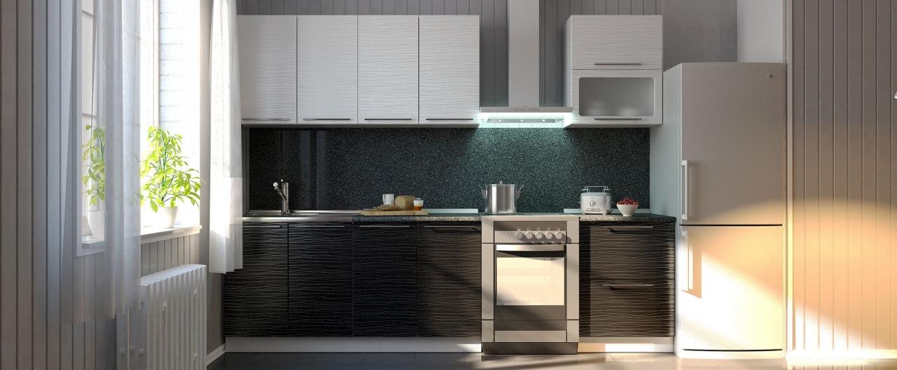Купить Кухня Страйп 2,2 м в интернет магазине корпусной и мягкой мебели для дома и дачи