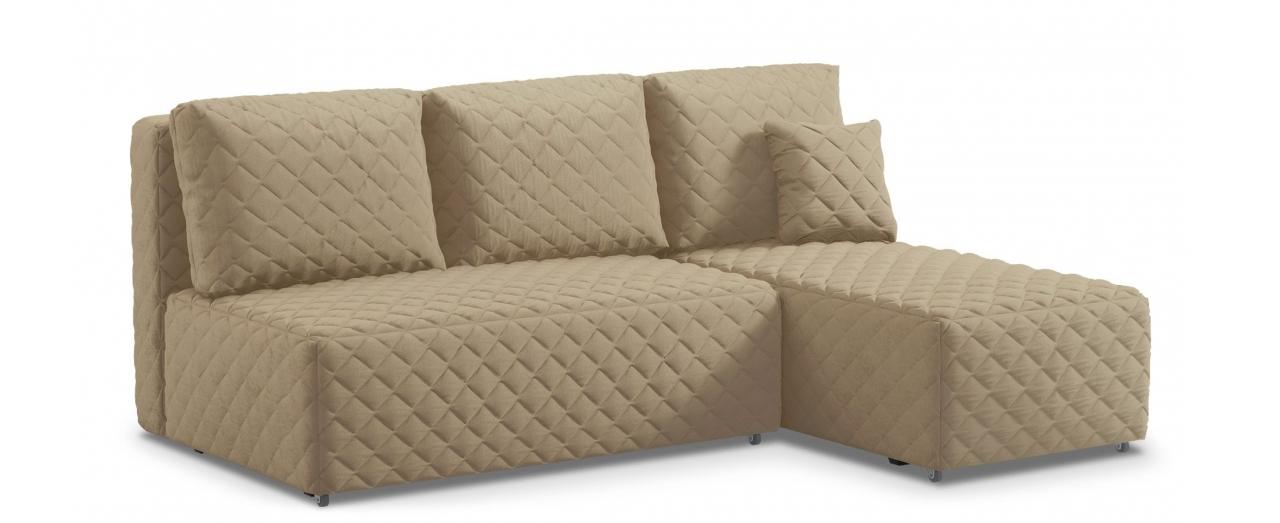 Диван угловой еврокнижка Марсель 087Гостевой вариант и полноценное спальное место. Размеры 217х163х94 см. Купить бежевый угловой диван еврокнижка в интернет-магазине MOON TRADE.<br>
