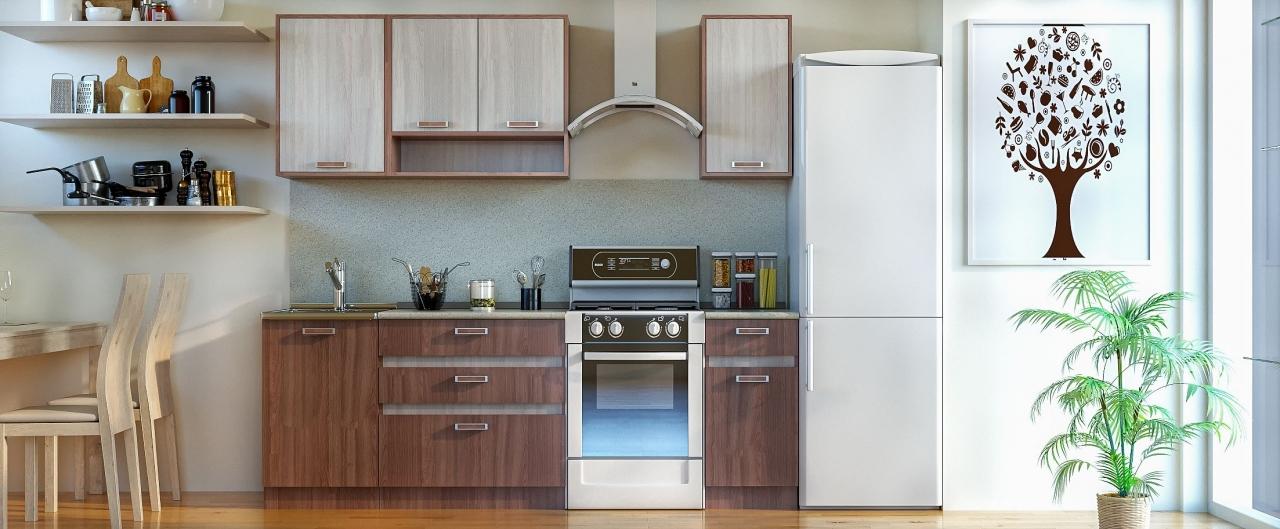 Купить Кухня Шимо темный 1,7 м в интернет магазине корпусной и мягкой мебели для дома и дачи