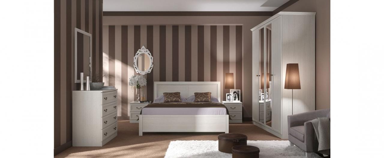 Спальня Camilla 598Минимальный набор из самого необходимого. Цвет ясень Авейру декапе. Гарантия 18 месяцев. Доставка от 1 дня.<br>