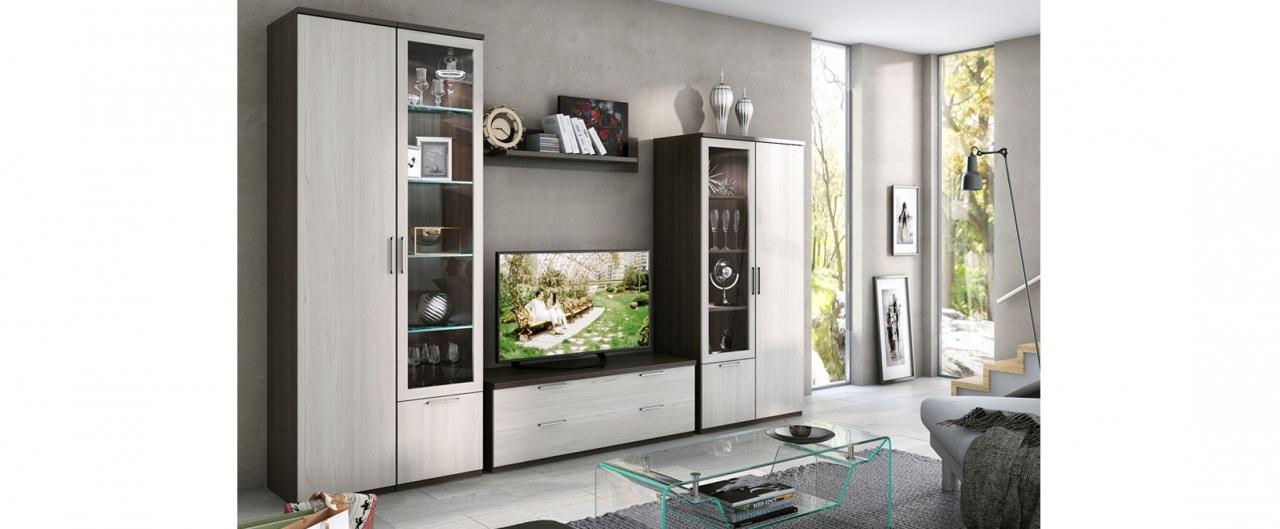 Купить Гостиная Flash Comby 596 в интернет магазине корпусной и мягкой мебели для дома и дачи