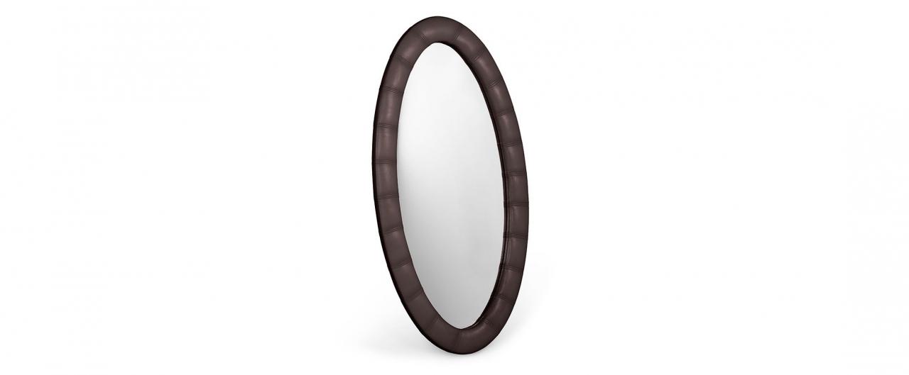 Купить Зеркало Люнетта кофе в интернет магазине корпусной и мягкой мебели для дома и дачи
