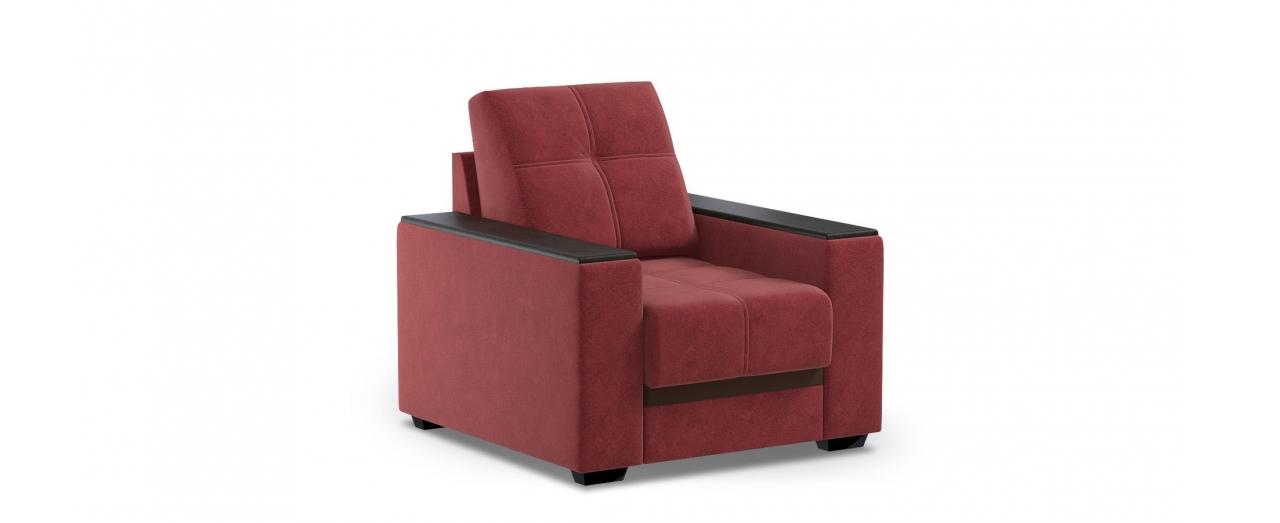 Кресло тканевое Атланта 066Купить бордовое кресло Атланта. Материал обивки - велюр, экокожа. Подлокотники цвета венге. Габариты 91х98х90 см. Доставим от 1 дня, поднимем и соберём.<br>