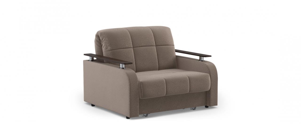 Кресло раскладное Карина 044Купить коричневое кресло-кровать Карина 044. Доставка от 1 дня. Подъём, сборка, вынос упаковки. Гарантия 18 месяцев. Интернет-магазин мебели MOON TRADE.<br>