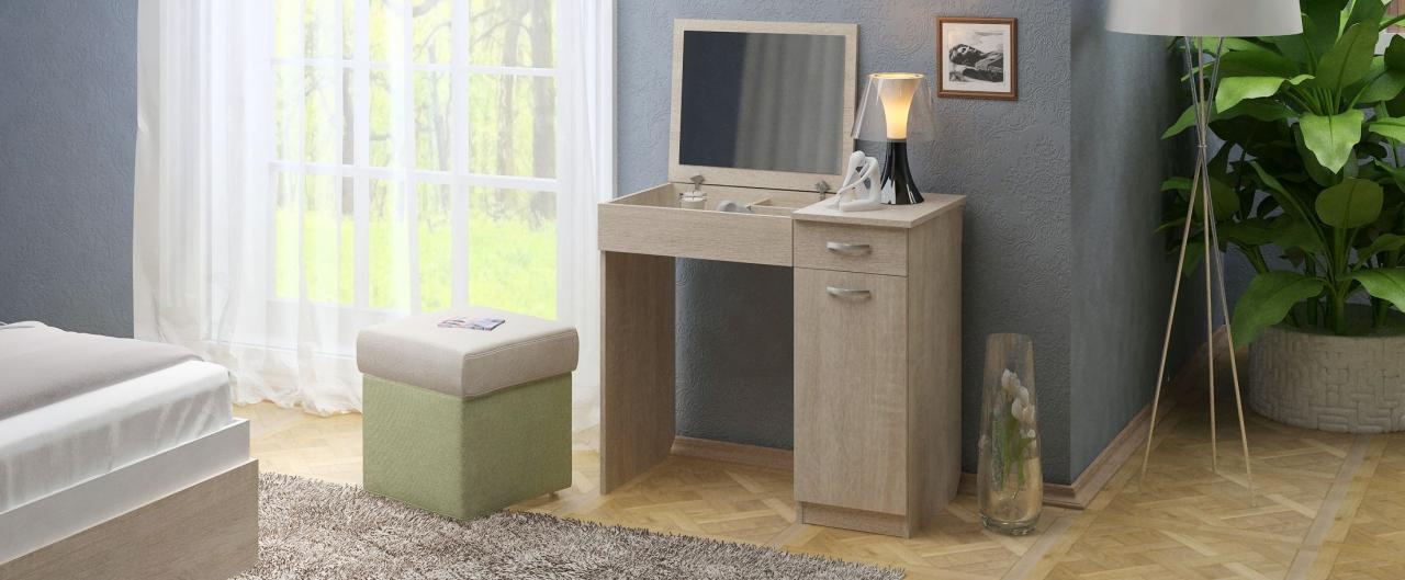 Купить Туалетный столик Риано 4 Модель 802 в интернет магазине корпусной и мягкой мебели для дома и дачи