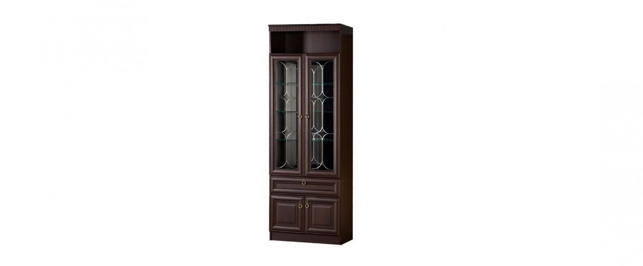 Шкаф для посуды Инна 612 темный Модель 900Шкаф для посуды Инна 612 темный Модель 900. Артикул Д000488.<br>